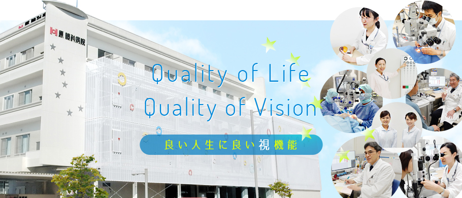 Quality of Life Quality of Vision 良い人生に良い視機能